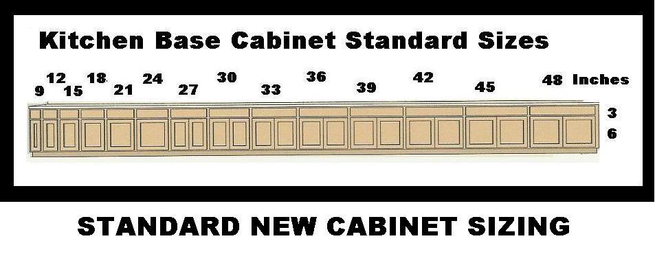 Cool 30+ Kitchen Cabinet Widths Decorating Design Of Standard ...