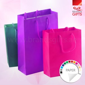 Paper Bags With Rope Handle A5 A4 A3 or Custom Size, Travel Bags, Shopping Bags www.brandsgifts.ae