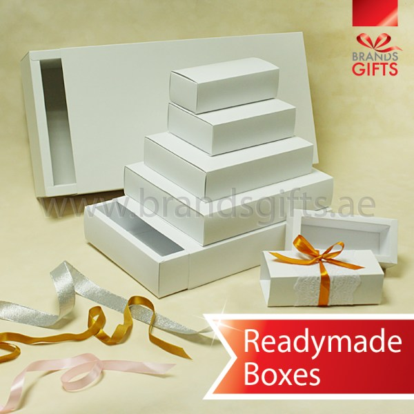 Slider boxes custom gift paper boxes abu dhabi dubai uae elegant white slider boxes open and close cardboard paper box readymade sizes and shapes negle Image collections