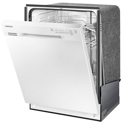Samsung DW80J3020UWAA 2375 White Built In Dishwasher