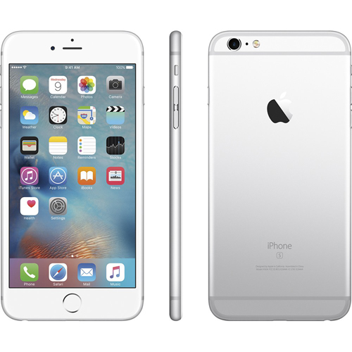 Apple MKQA2LLA IPhone 6s 64GB Silver BrandsMart USA