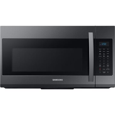 1 9 cuft 950 watt over the range microwave in black stainless
