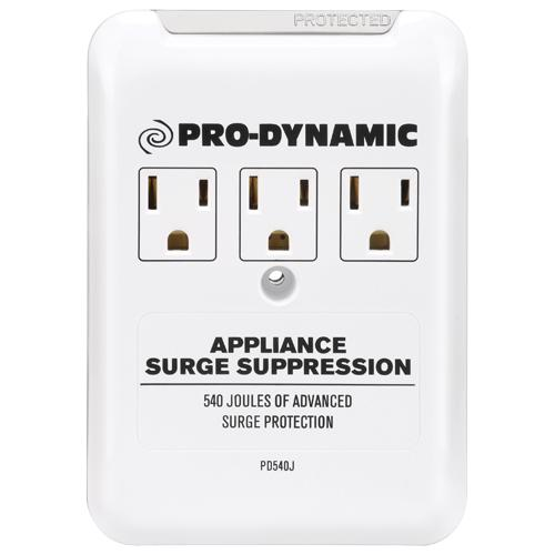 Pro Dynamic PD540J 3 Outlet Appliance Surge Protector