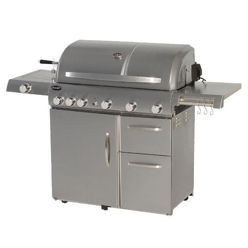 Aussie Grills Gas Grill With Side Burner 8770