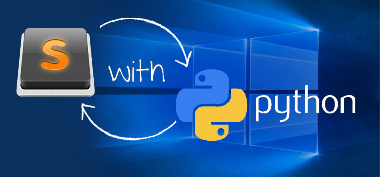 Setting up for Python development on Windows with Sublime Text