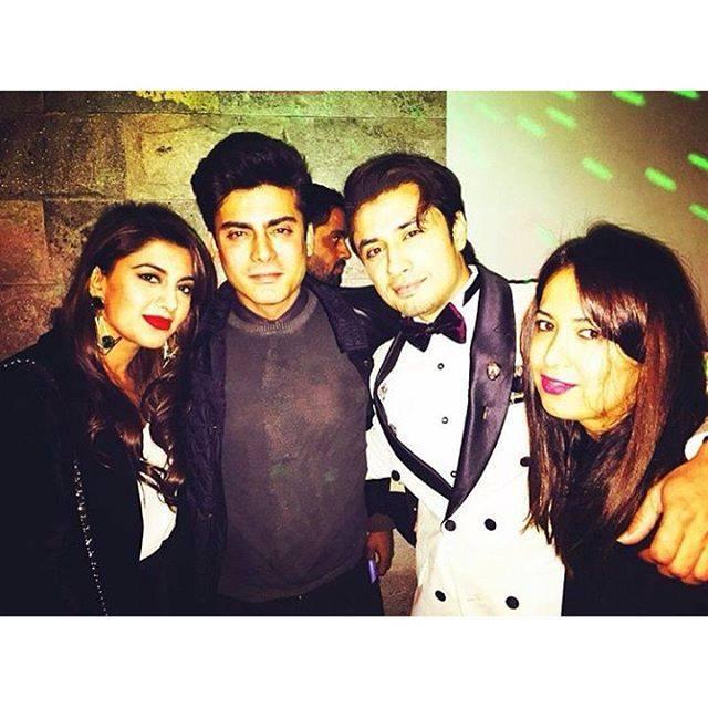 Ali Zafar Party