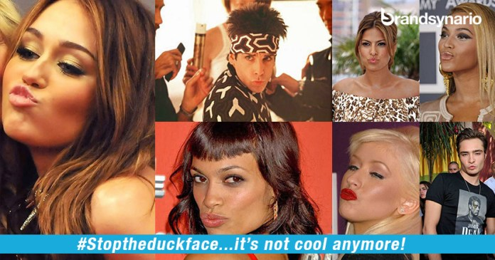 StoptheDuckFace It Is Not Cool Anymore