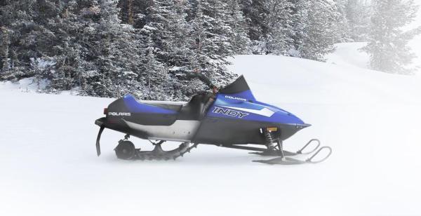 Детский снегоход Polaris 120 INDY характеристики фото