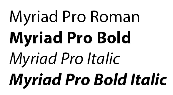 Choosing Fonts for Office - A font family