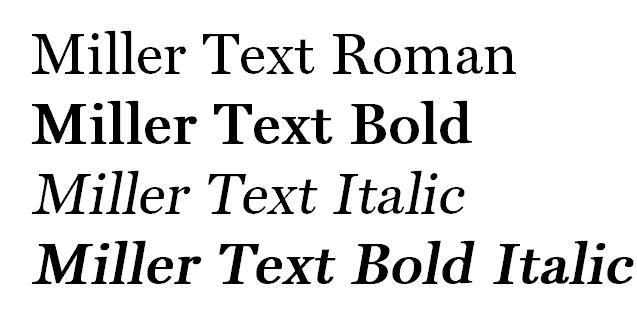 Choosing Fonts for Office - Base Font Installed