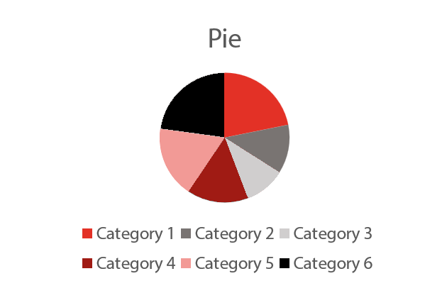 Great Color Themes - Pie Chart