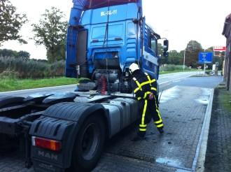 Vrachtwagen bradn Roost 2