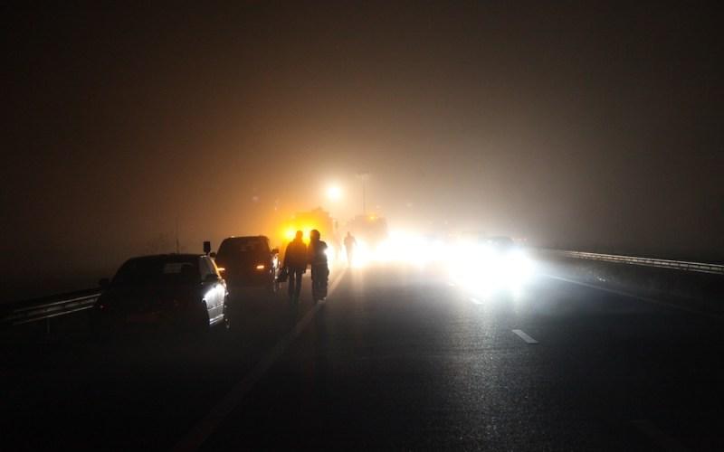 Ongeval A2 Weert met Vrachtauto en Personenauto