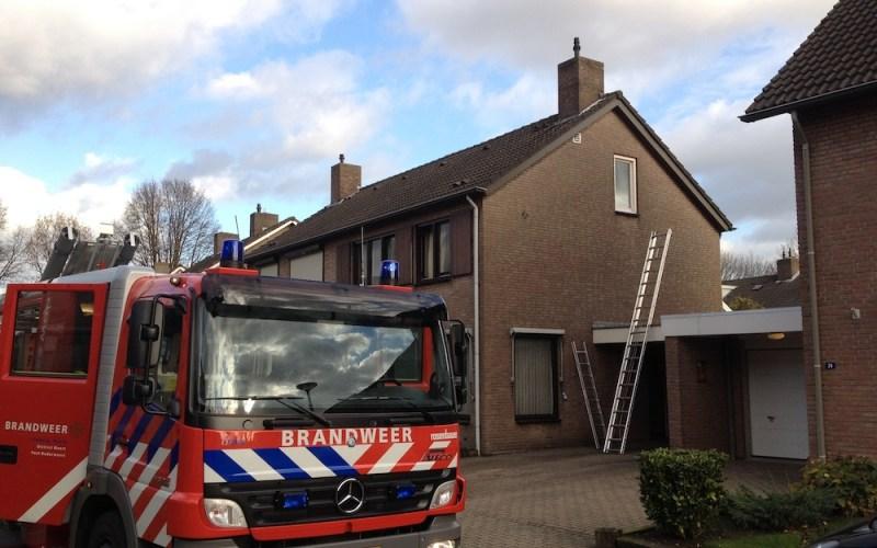 Keukenbrand Wilhelminastraat Nederweert
