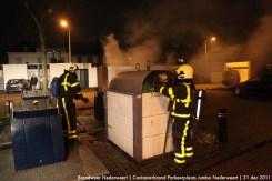 Containerbrand Parkeerplaats Jumbo Nederweert 4