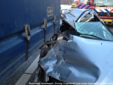 Ongeval A2 Vrachtoauto-Auto 074