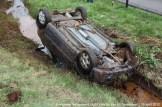 2012_04_15 Auto over de kop A2 Nederweert 147