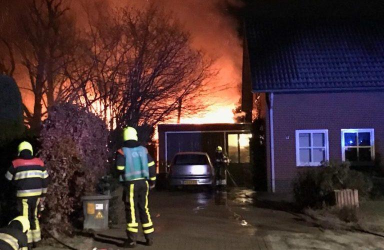 Zeer grote bedrijfsbrand Leveroy / Heythuysen