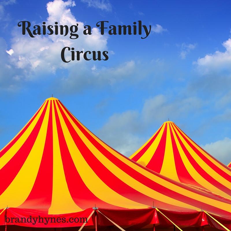 raising a family circus