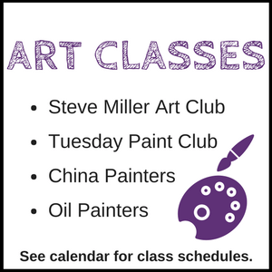 Art Classes - Branson-Hollister Senior Center