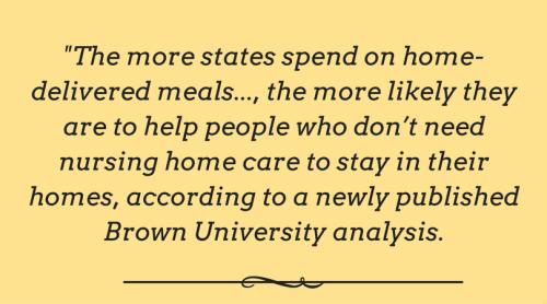 Meals on Wheels - Statistics - Branson-Hollister Senior Center