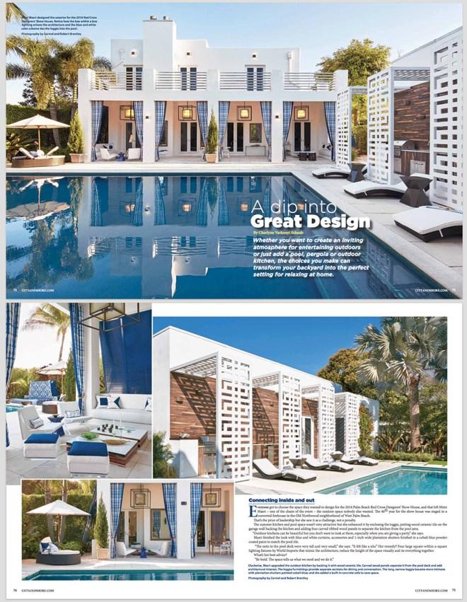 Patio Design Photography