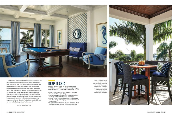 seaside interior design photography