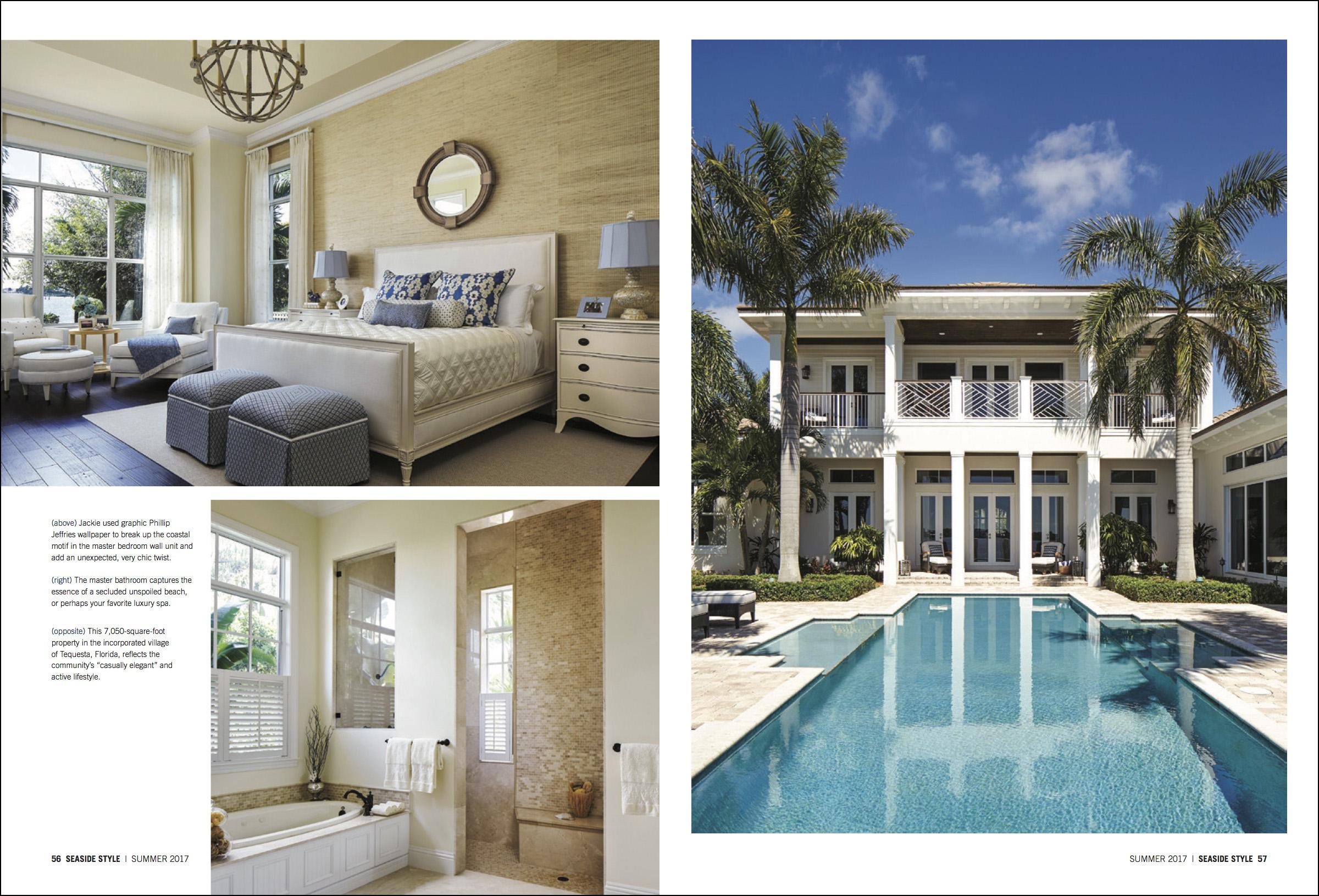 seaside style interior design magazine tequesta palm beach county fl