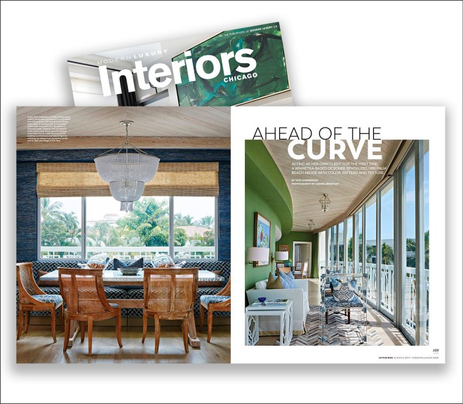 Modern Luxury Interiors Chicago Magazine
