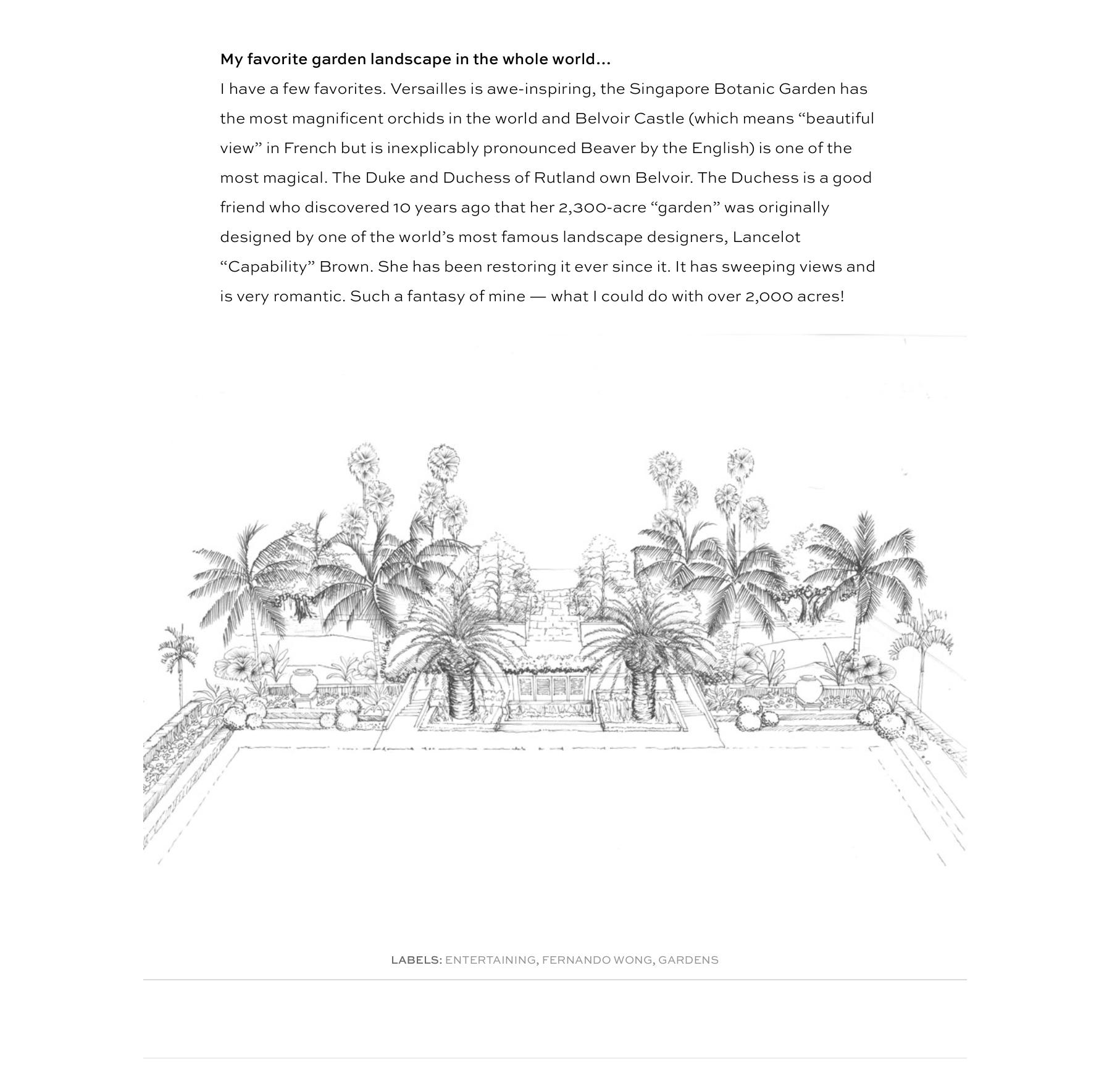 Fernando Wong Outdoor Living Design 6