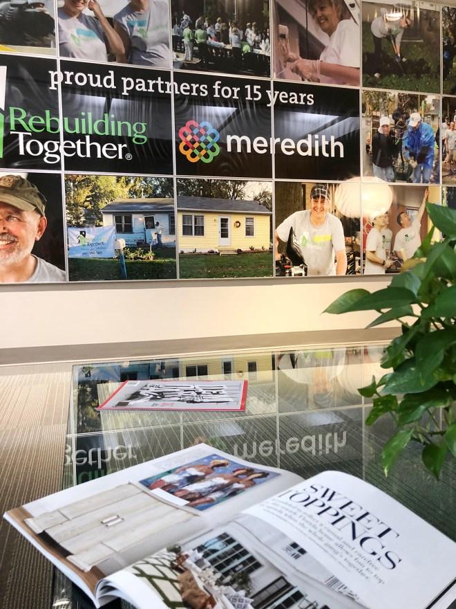 Meredith Publishing Tour