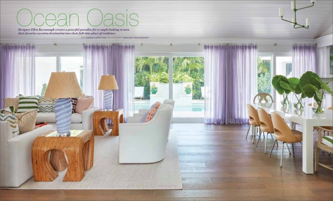 Southern Home Magazine Features Palm Beach Home