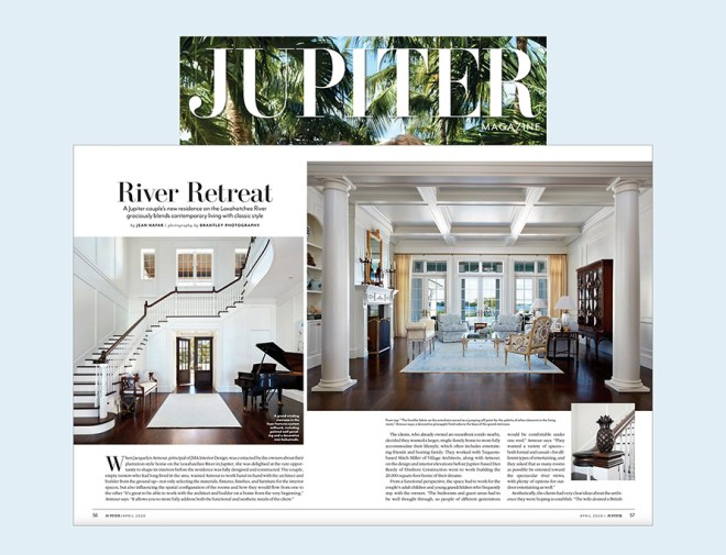 River Retreat, Jupiter Magazine
