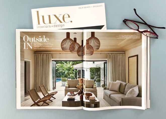 Luxe Magazine editorial photography