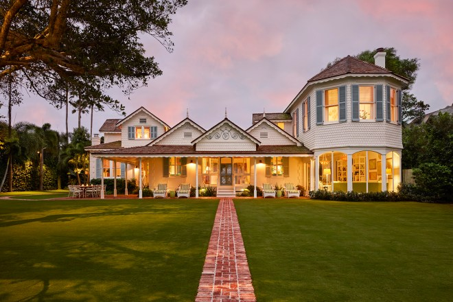 historic Palm Beach cottage photography