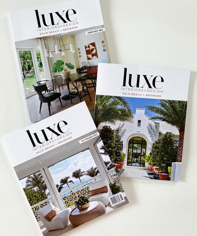 Luxe Magazine Covers by Brantley Photography