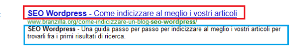 Titolo SEO e Meta Description