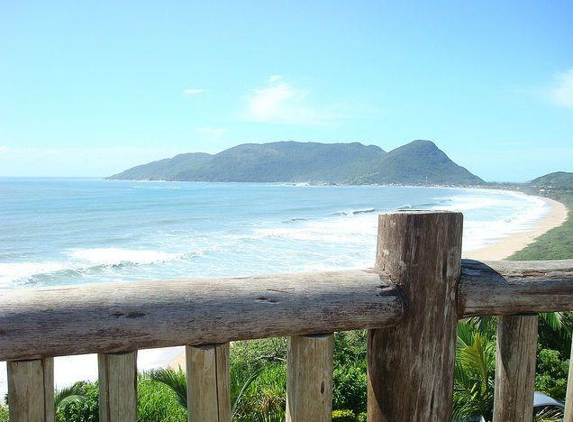 Playa en Florianópolis. Foto: Cezar Mota