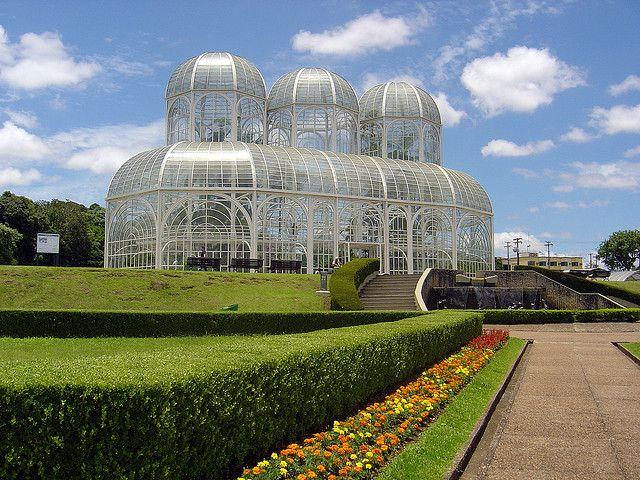 Jardín botánico de Curitiba. Foto: whl.travel