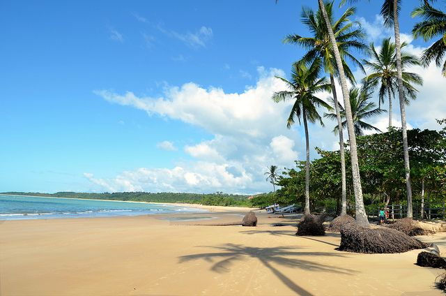 Praia dos Coqueiros en Trancoso. Foto: Rodrigo Soldon
