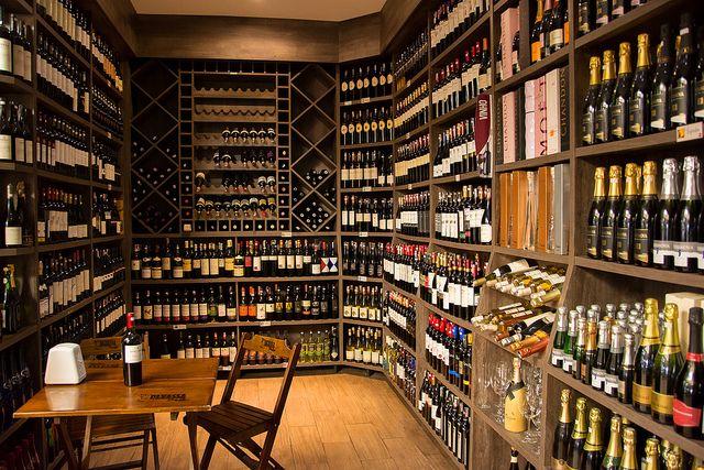Tienda de vinos en São Paulo.