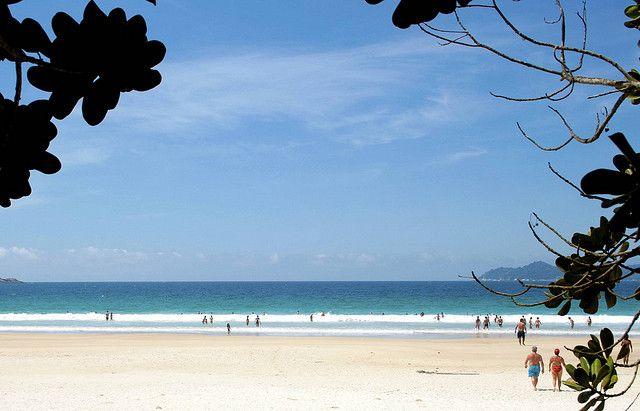 Praia Lopes Mende. (Foto: Anderson Mancini)