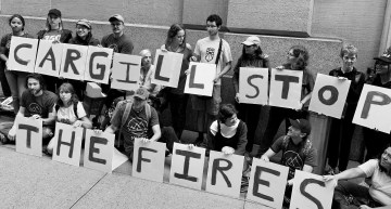 New Yorkers protest Cargill's role in Amazon destruction