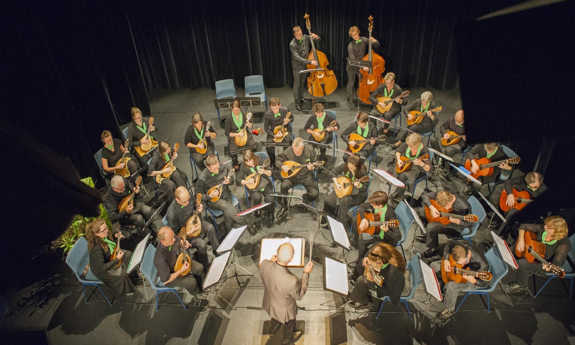 BMO onder leiding van Marcel De Cauwer tijdens de jubileumconcerten in 2015