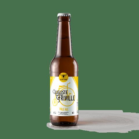 Bouteille bière Auguste Friville