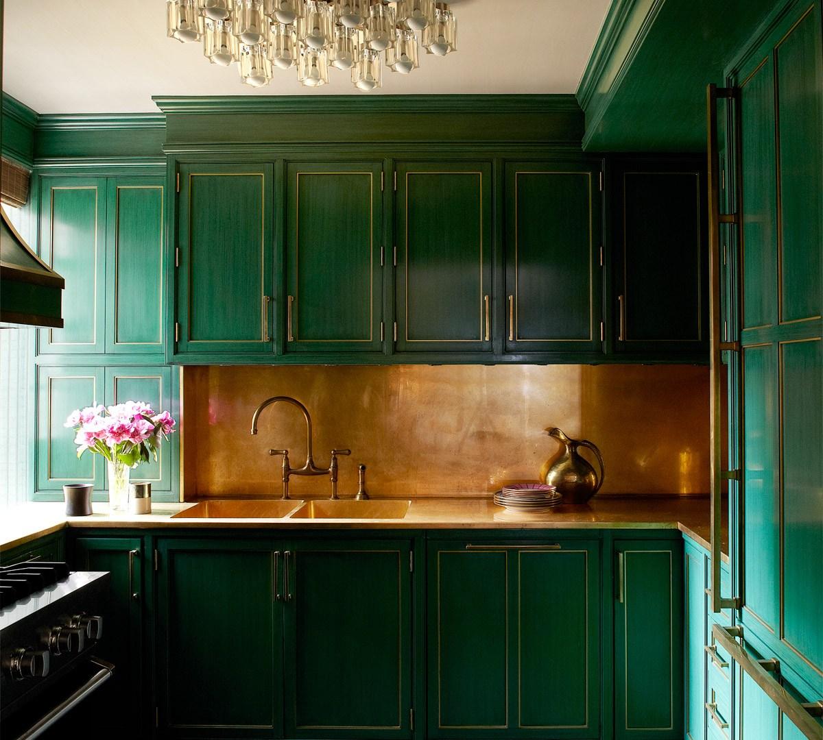 Brass Kitchens, Brass Bathrooms, Brass Fixtures, Oh My!
