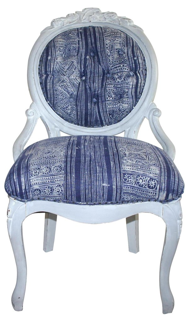 Tufted Batik Chair, $899