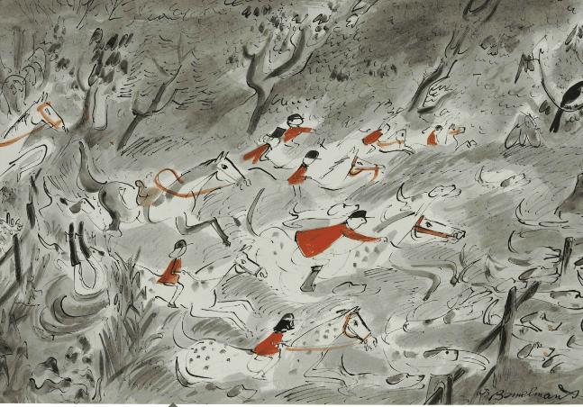 Ludwig Bemelmans' Fox Hunting