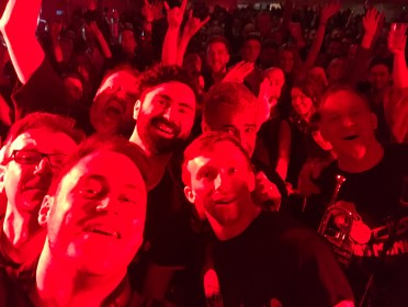 Brass Monkees Nantwich Jazz Festival 2018 Crowd Selfie 1