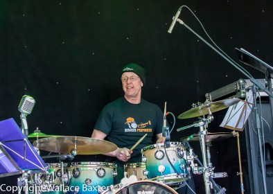 Brass Monkees Nantwich Jazz Festival 2018 Drummer